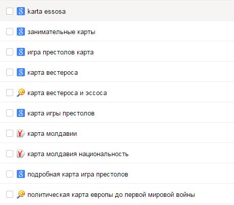 поисковые запросы, по которым заходят на mnweb.ru